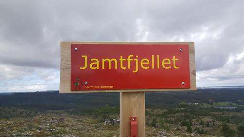 Post i Barmfjordtrimmen, Jamtfjellet