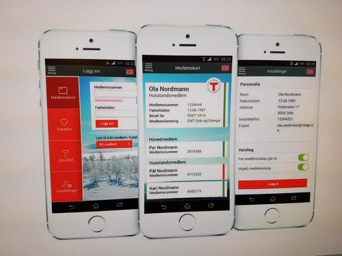 Vi bytter fra medlemskort-app til egen medlemskort-side!
