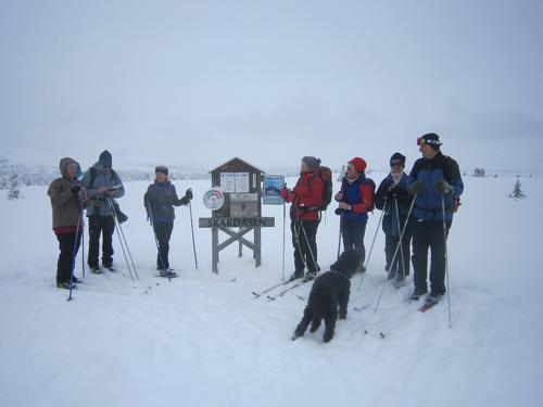 6. mars hadde Seniorgruppa skitur til Skardåsen