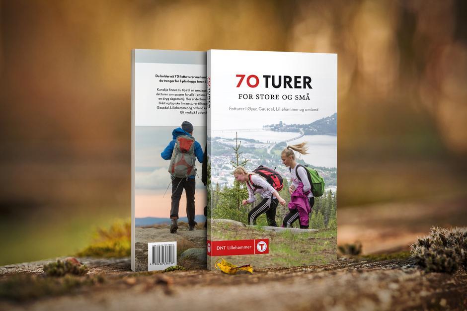 DNT Lillehammers nye turbok er til salgs nå for 250 kroner