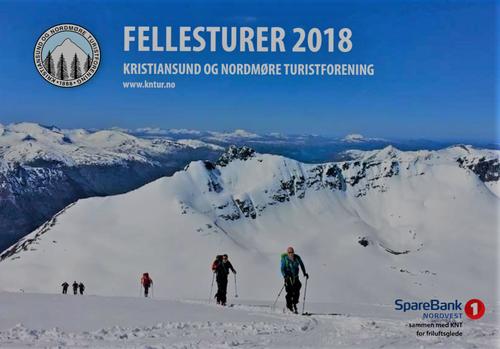 Fellesturkatalogen 2018 fra Kristiansund og Nordmøre Turistforening