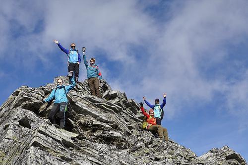 Toppturer med guide hver mandag, torsdag og lørdag