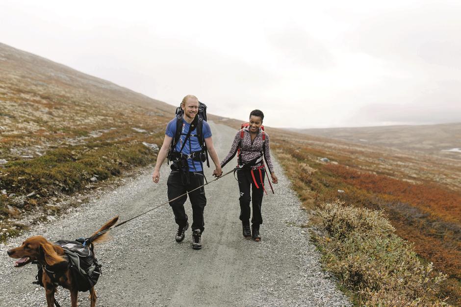 VEI: Vandresti slik jeg har opplevd den i andre land, i Norge er en sti noe helt annet.