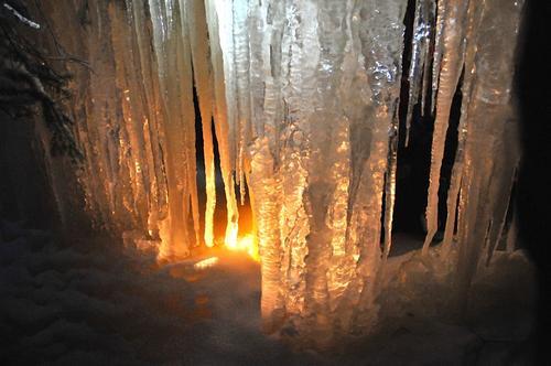 Vintertur til Bergsprekken og Isslottet