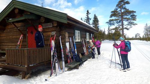 Tur til Vollkoia/Blåmyrkoia 22.03.17.