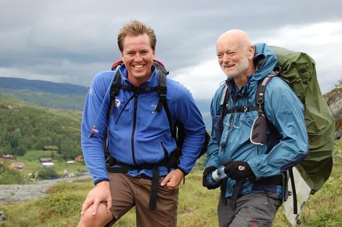 Glade turmennesker. Foto: Johan Fegri