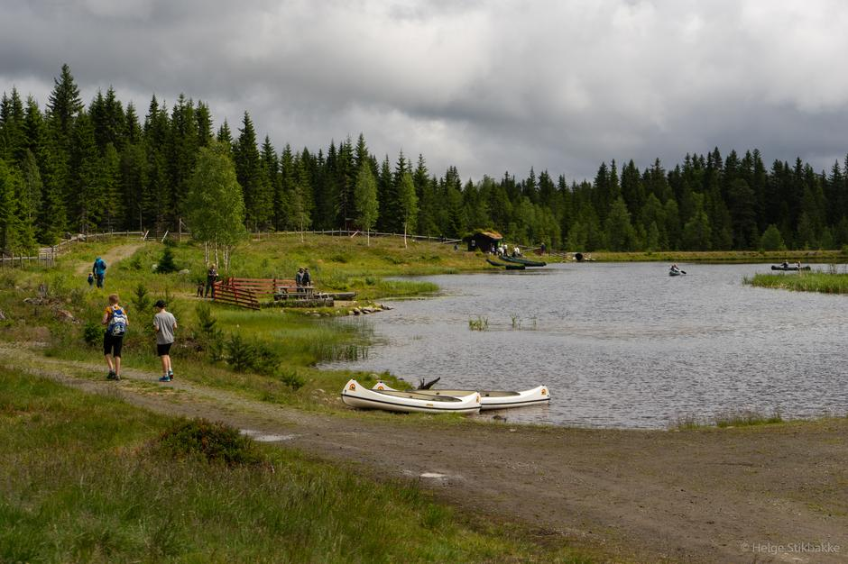 Tjernet på Vollkoia