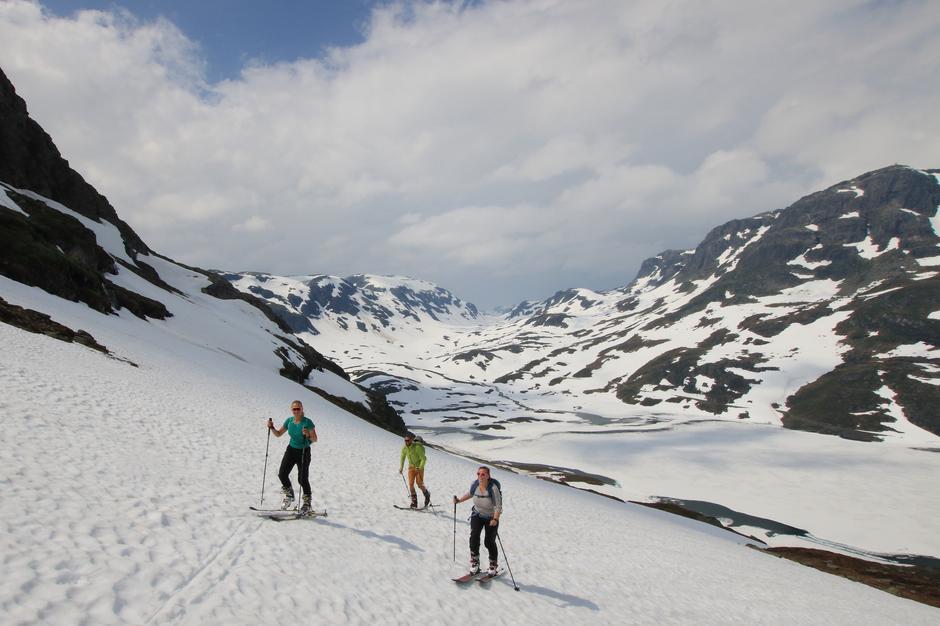 Fremdeles fine forhold for å gå på ski