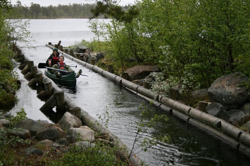 Kanotur femunden 2010, Foto: Vidar Bjørnstad