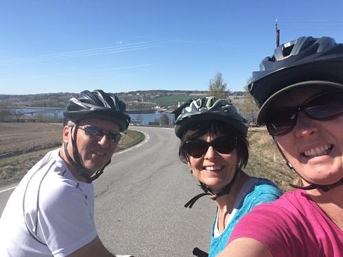 Sykkeltur på Helgøya