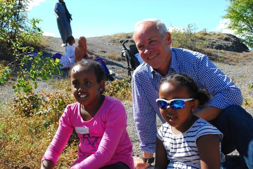 Minister med på bynær barnefamilietur
