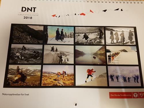 DNT Jubileumskalender 2018