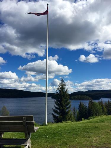 Utsikt fra Kikutstua
