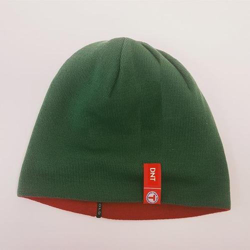 Vendbar DNT-lue (rød/grønn), ekstra tykk. Kr 339,-/399,-. Nyhet 2019!