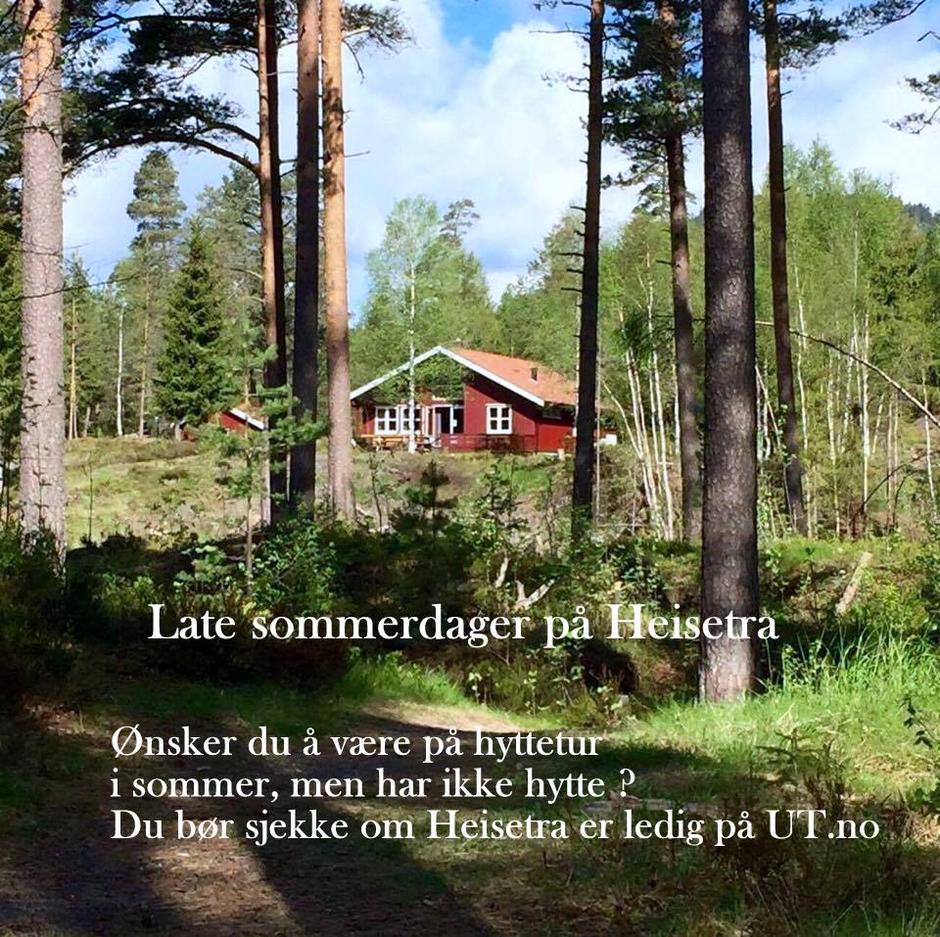Sommeridyll på Heisetra