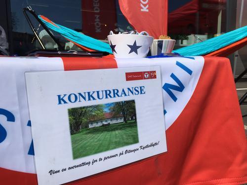 Vellykket stand-dag i Kragerø
