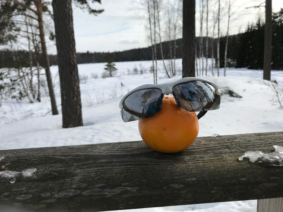 Solappelsin i Påskestemning
