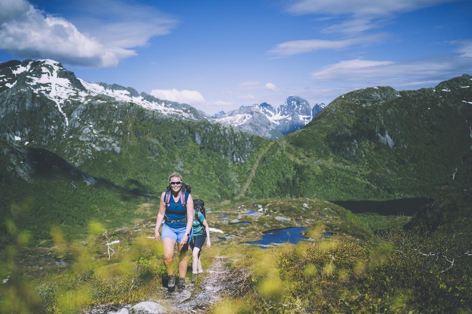 """Selv i Lofoten kan du finne """"ukjente"""" hytteperler."""
