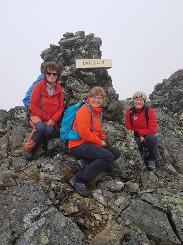 20. juni var det dagstur til Gilafjellet, Kruk vestre utsiktspunkt