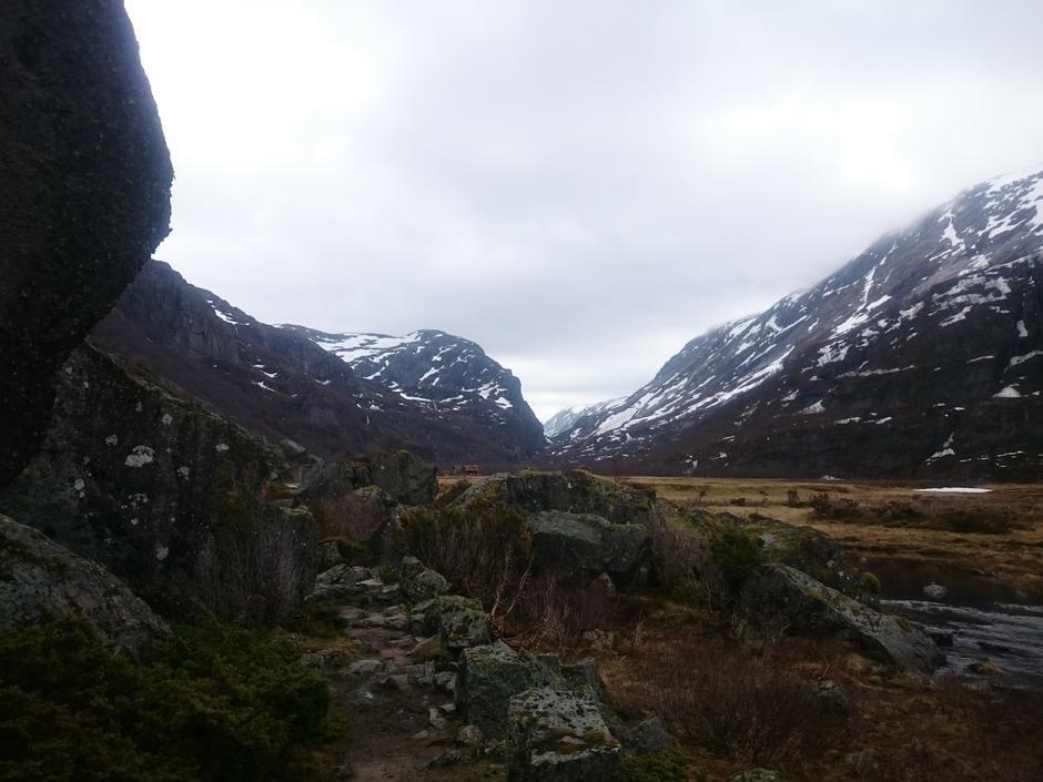 Viglesdalen er snøfri og har nettopp hatt dugnad