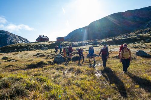 80 prosent planlegger å reise til fjells i høstferien