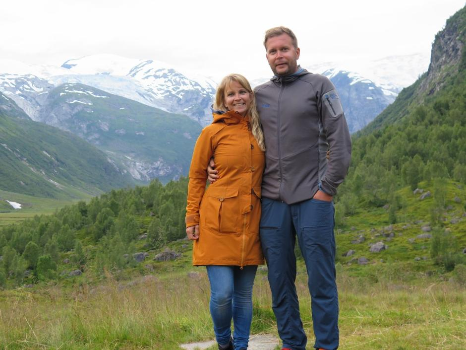 Mette Grøsland og Rune Hilleren Dokken