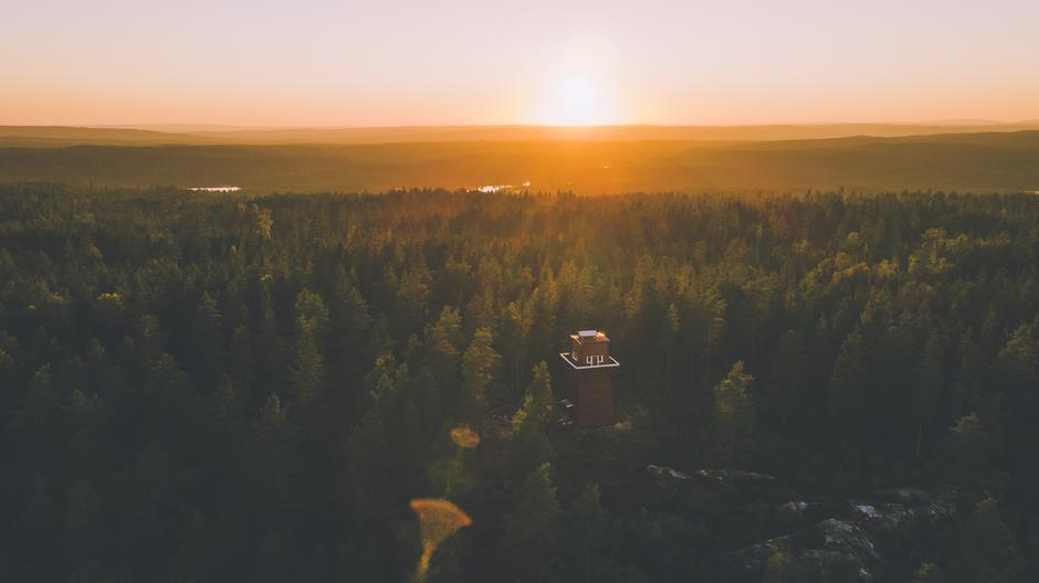 Haukenestårnet i Indre Østfold.