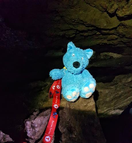 Barnas turlag på Grottetur