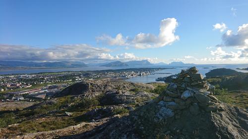 Utsikt fra Pallfjellet