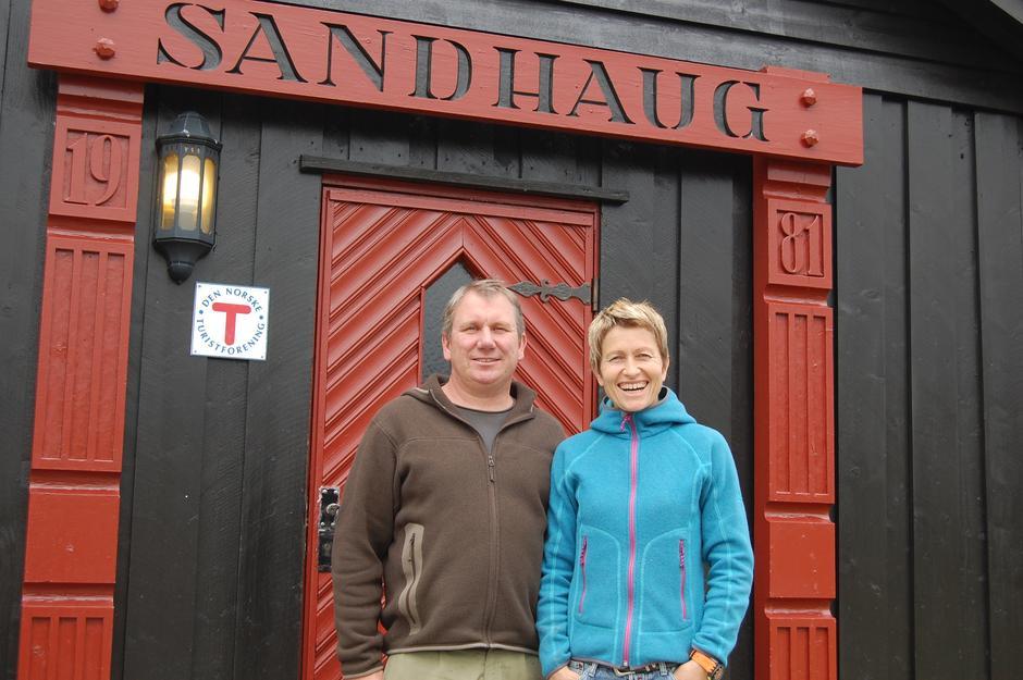 bestyrere på Sandhaug