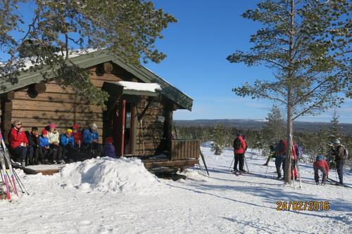 Tur til Vollkoia/Blåmyrkoia 24.02.16.
