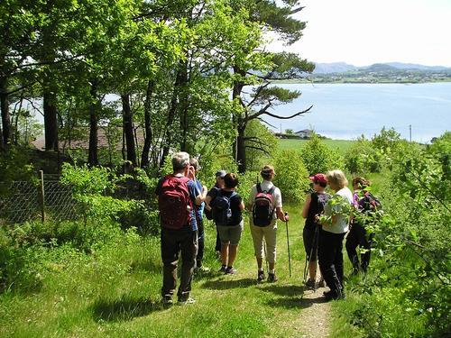 Idylliske motiver med utsikt over Hafrsfjord.