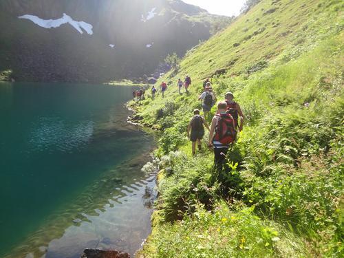 Trollfjordturen oppstigning Austpolldalen 27.07.14