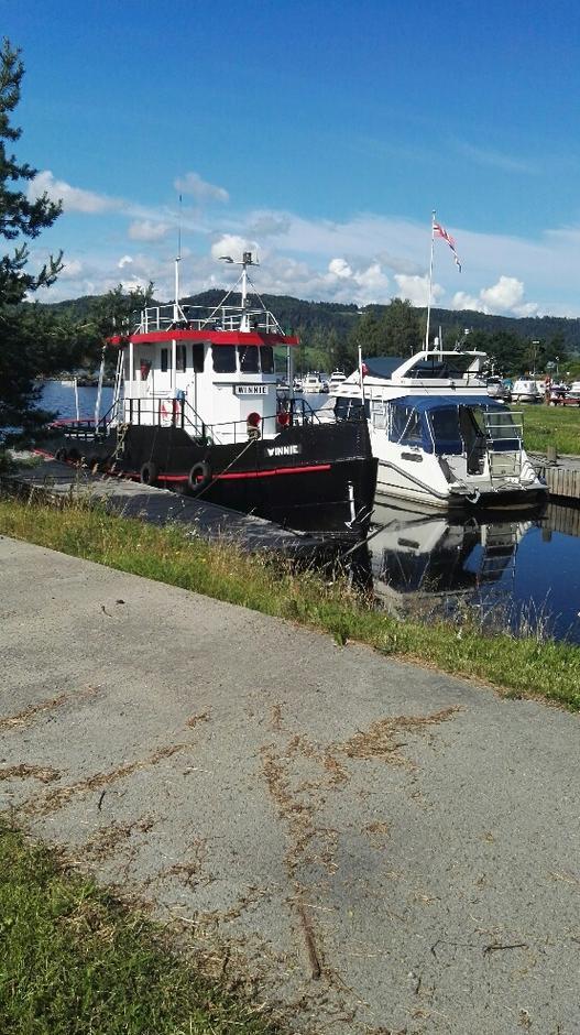Winni, en av Mjøsas gamle båter.