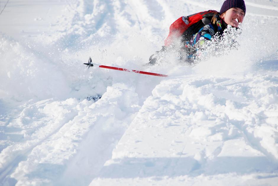 Vi håper snø og mye morro på søndag!