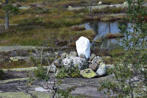 Steinen som turen har fått navnet fra
