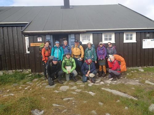 Turlaget på Hardangervidda Øst