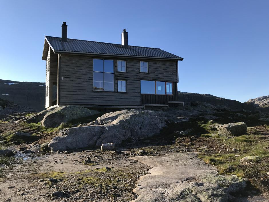 Superduper hytte: Gullhorgabu i Bergsdalen