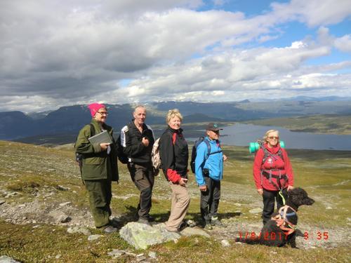 1. august hadde Seniorgruppa tur til Gilafjell og Kruk