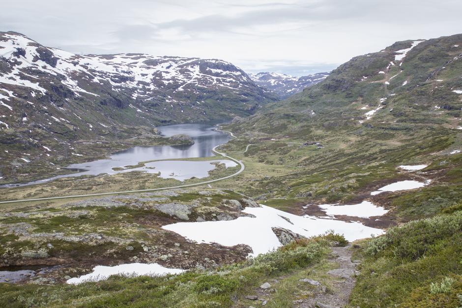 Utsikt over Vetlebotnvatnet.