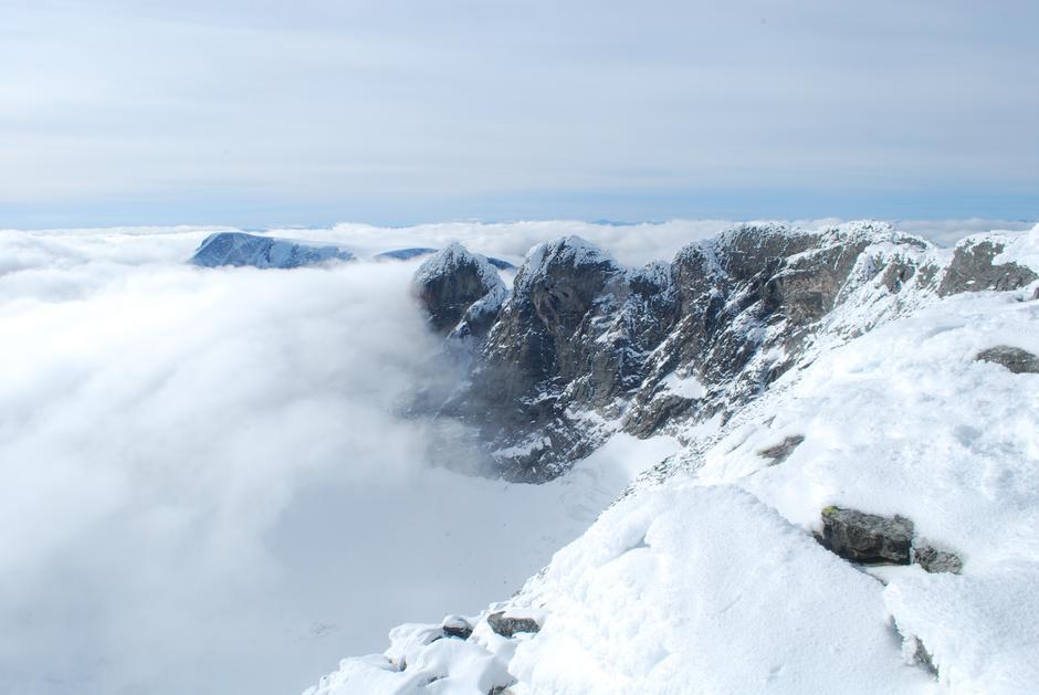 Toppen av Snøhetta