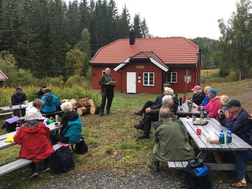 Seniortur i Eikedalsmarka 27. september