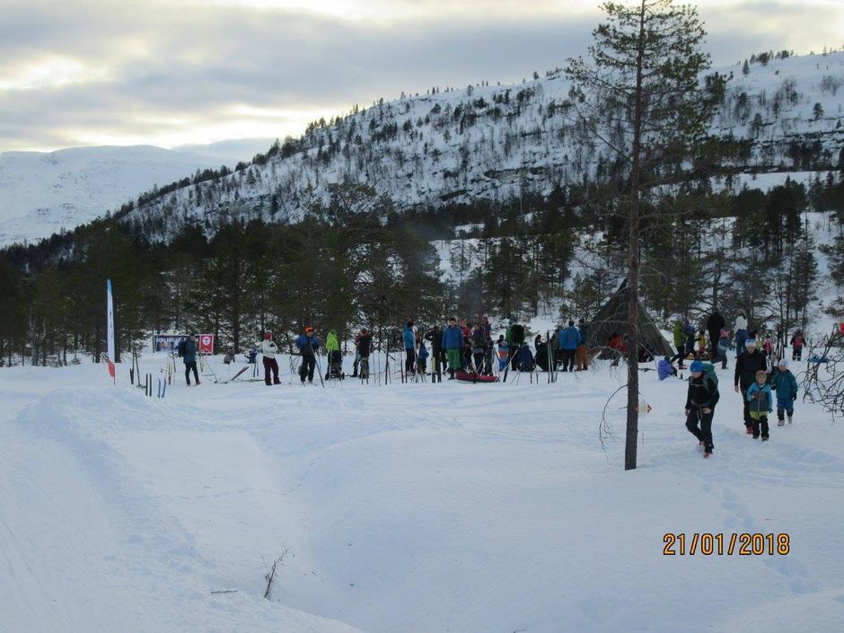 21.01.2018 - Utebursdag -  DNT 150 ÅR