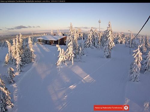 Vinteren er på Hedmarksvidda