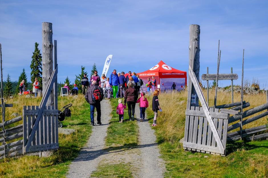 Kom deg ut-dagen på Åkersætra med Hamar og Hedemarken Turistforening