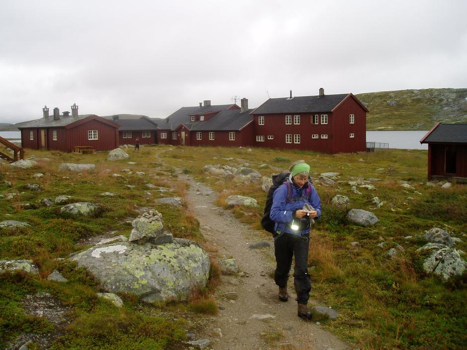 Ut fra Krækkja. Foto: Hilde L. Magnussen