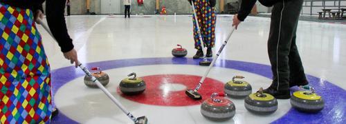 Curlingkveld med DNT Junior Grenland
