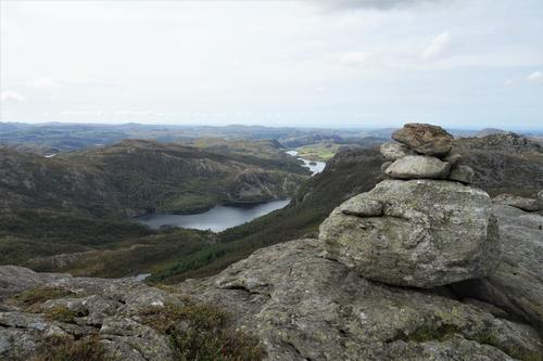 Utsikt fra Ulvsfjell