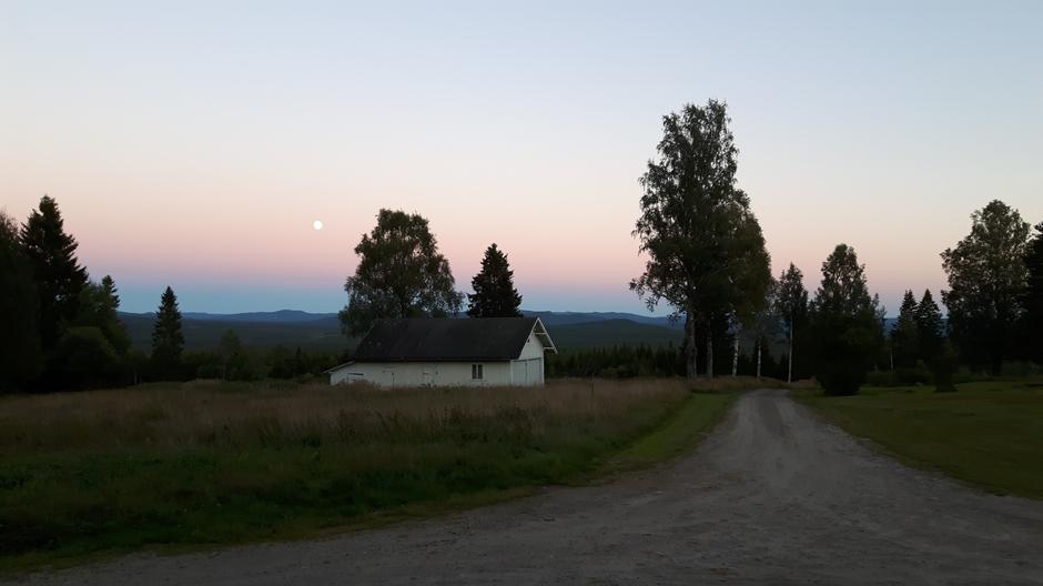 Sommernatt i Juvberget