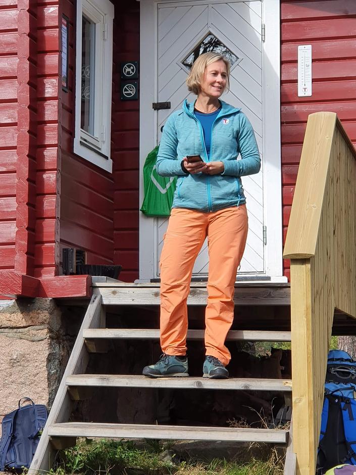 Hilde Thoresen fra styret i DNT Oslo og Omegn